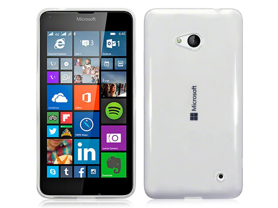 CaseBoutique Crystal Clear Case - Doorzichtig Microsoft Lumia 640 Hoes