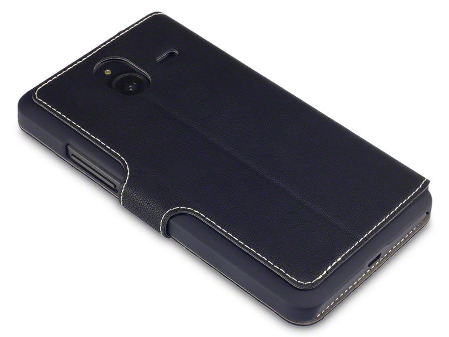 Covert UltraSlim Book Case - Hoesje voor Microsoft Lumia 640 XL
