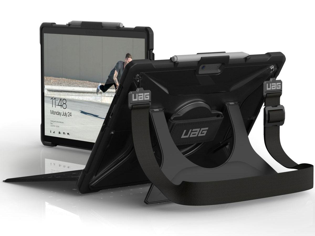 Urban Armor Gear Plasma - Surface Pro X hoesje Handvat Schouderband