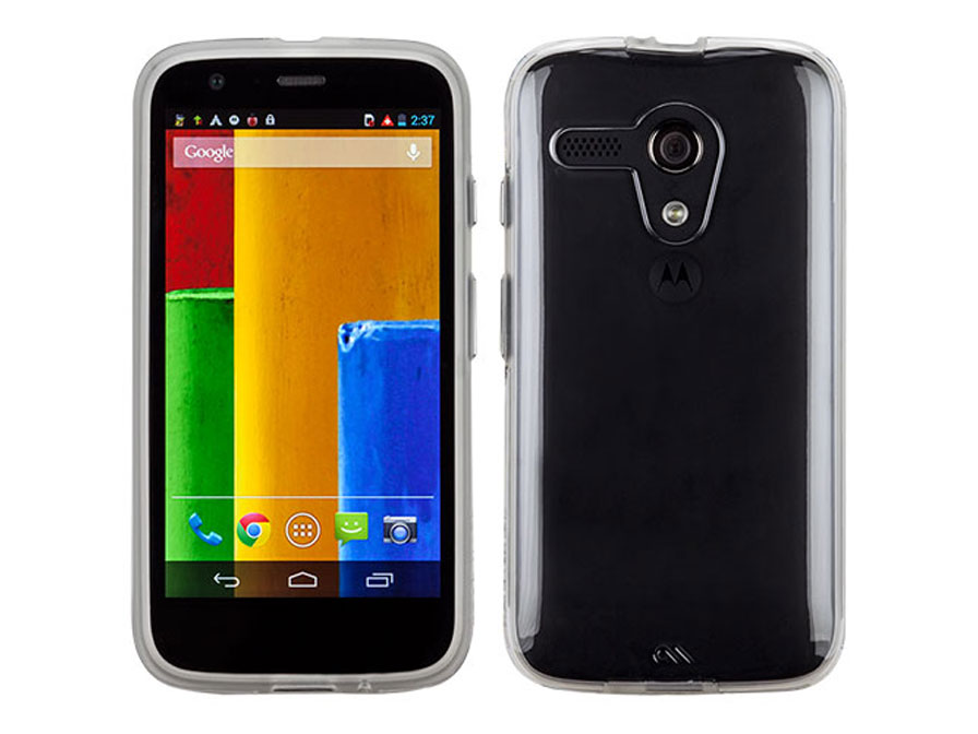 Case-Mate Naked Tough - Dual Protection Case voor Motorola Moto G