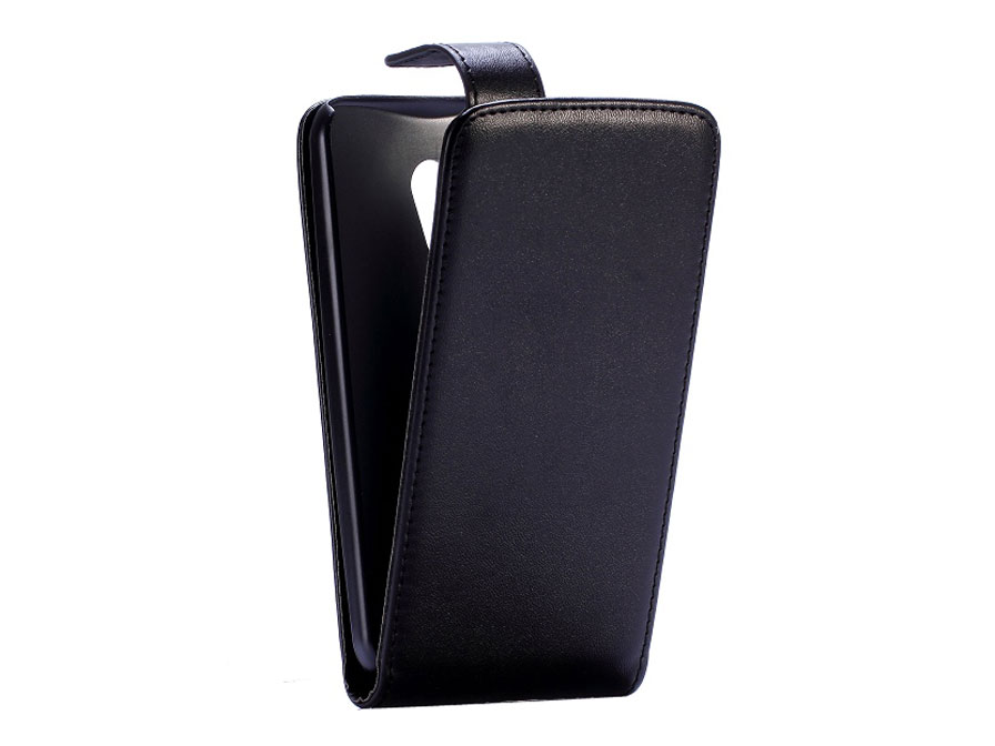 Business Leather Flip Case - Motorola Moto G2 hoesje