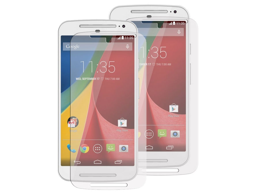 Clear Screenprotector voor Motorola New Moto G 2014 (2-pack)