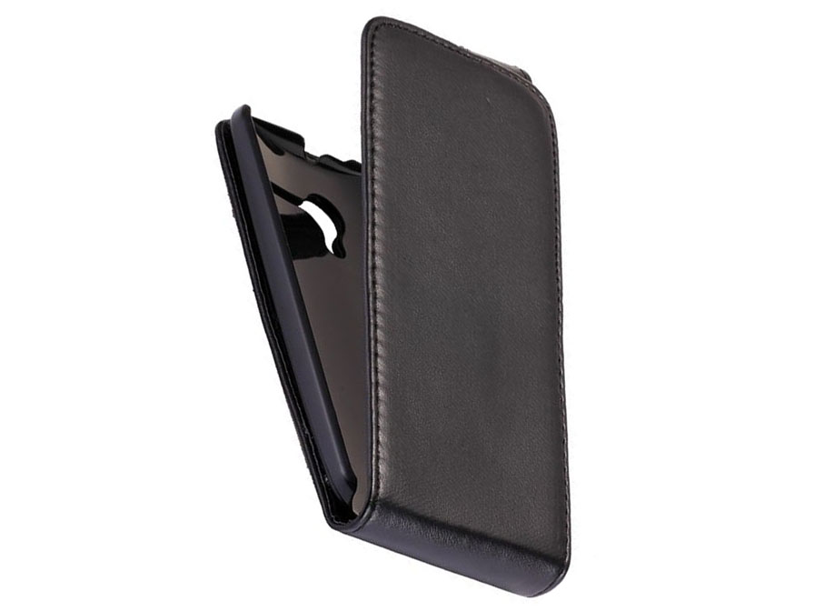 Business Leather Flip Case - Hoesje voor Motorola Moto X