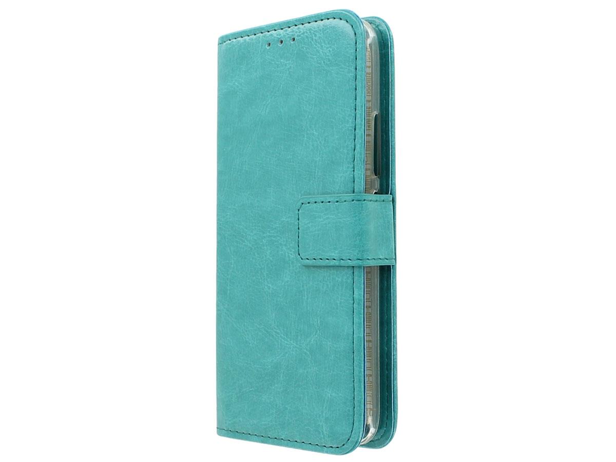 outlet store da45a 39583 Bookcase Turquoise - Motorola Moto G5 Plus hoesje