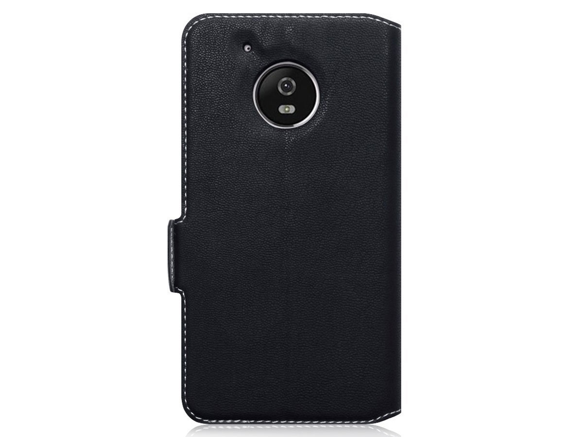 Covert Slim Bookcase Flipcase - Moto G5 Plus hoesje