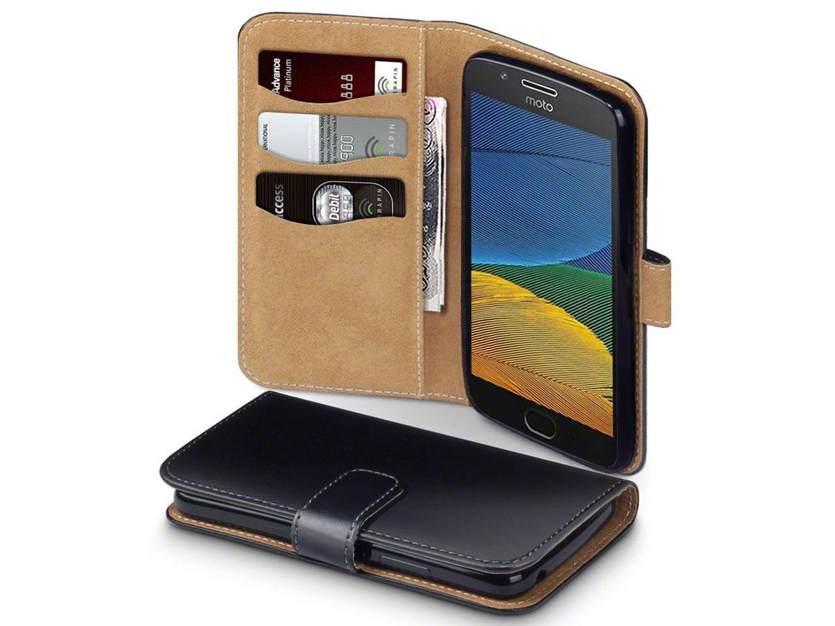 buy online 8e213 282a2 CaseBoutique Classic Wallet - Motorola Moto G5 Plus hoesje