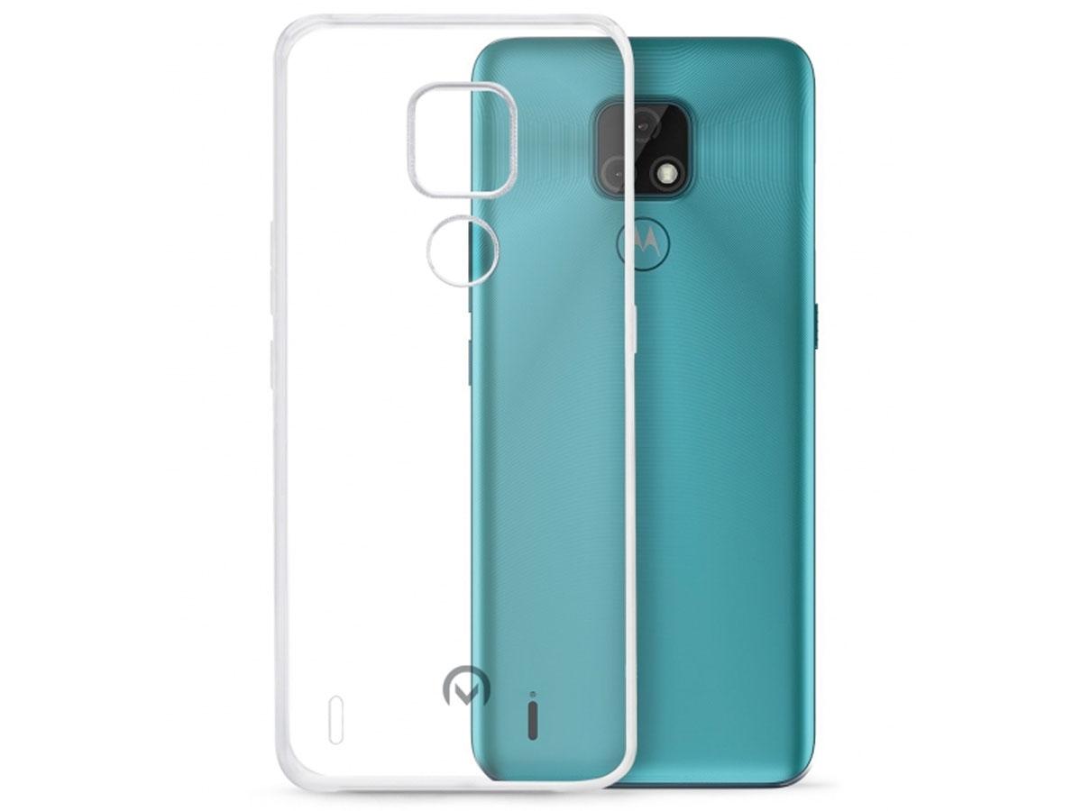 Mobilize Clear TPU Case - Motorola Moto E7 hoesje Transparant