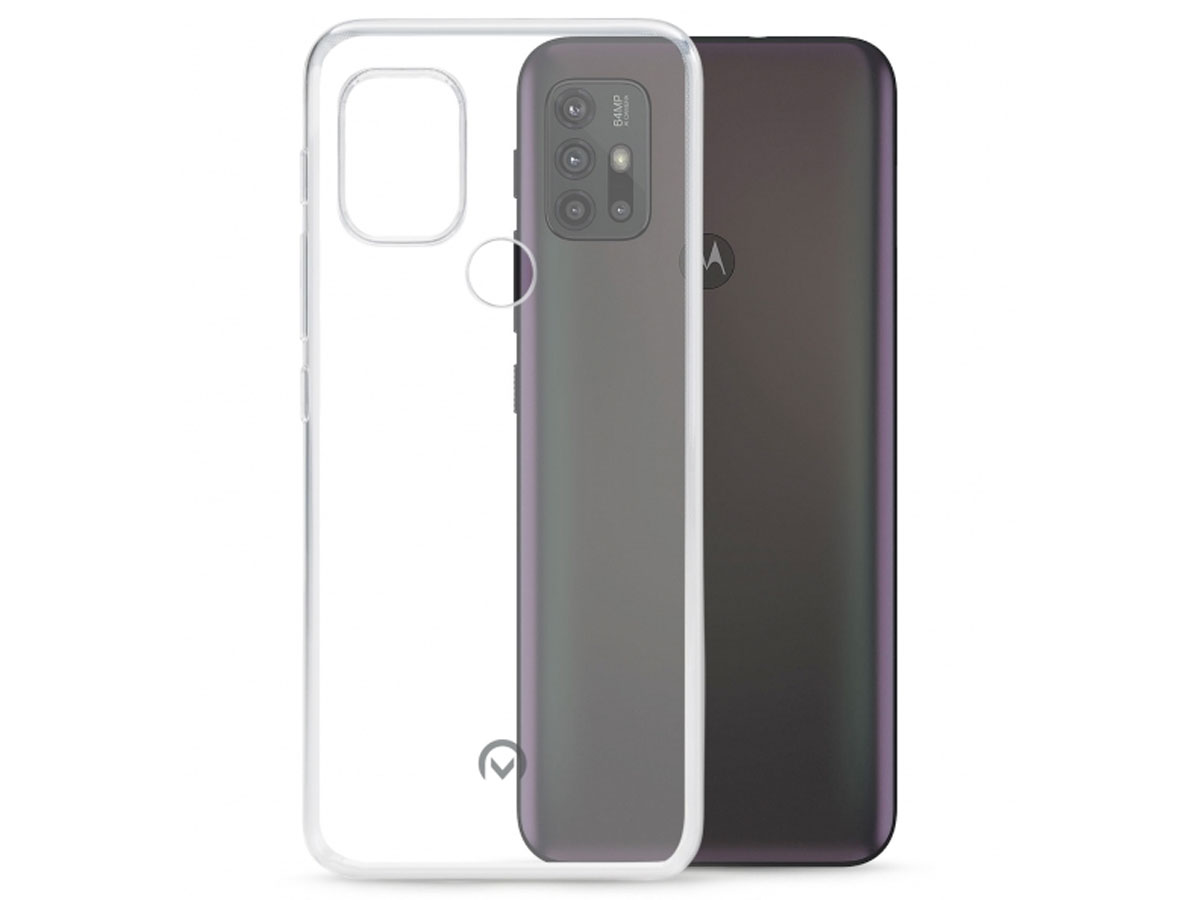 Mobilize Clear TPU Case - Motorola Moto G10 hoesje Transparant