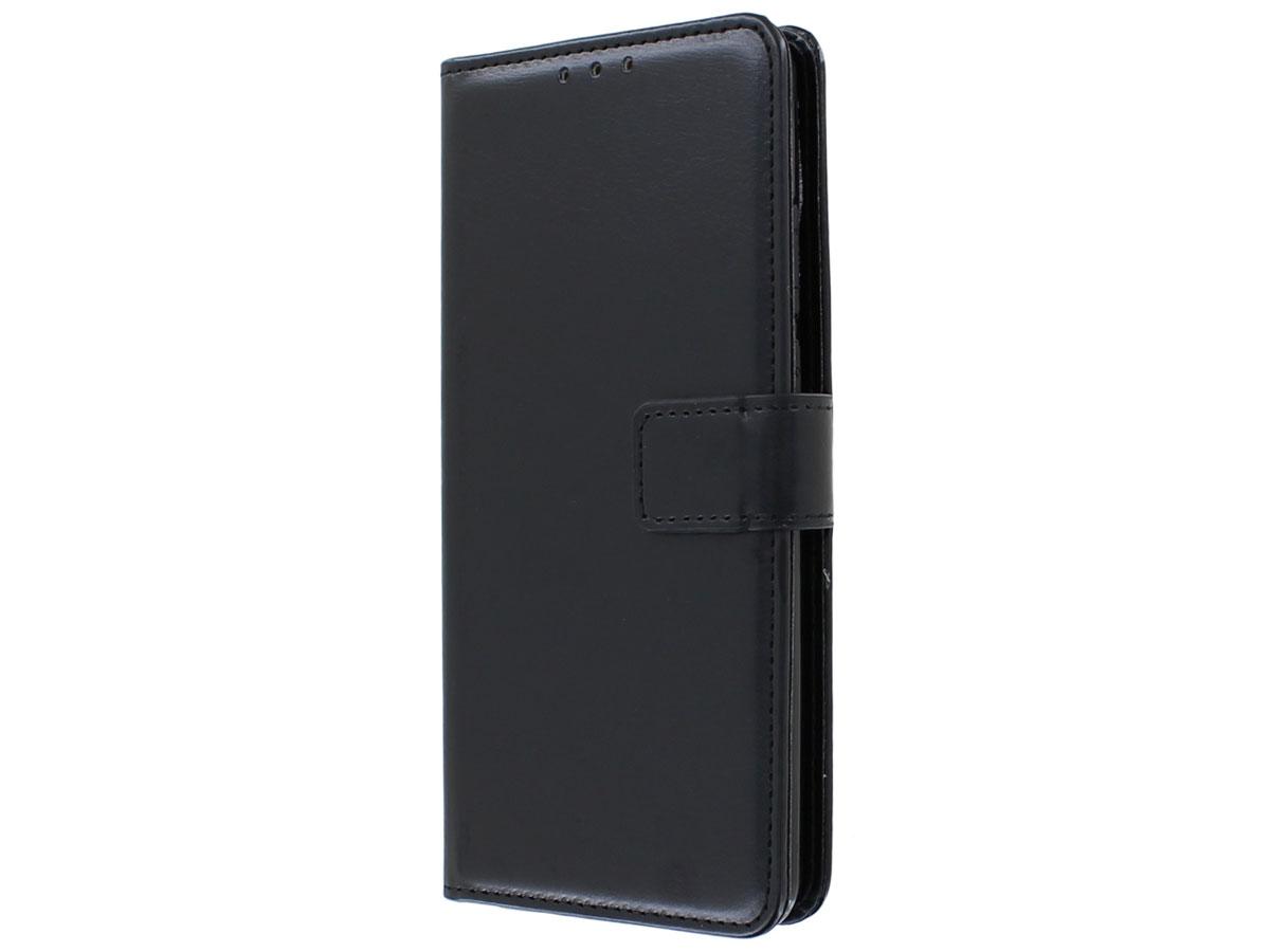 Bookcase Mapje Zwart - Motorola Moto G8 Power hoesje