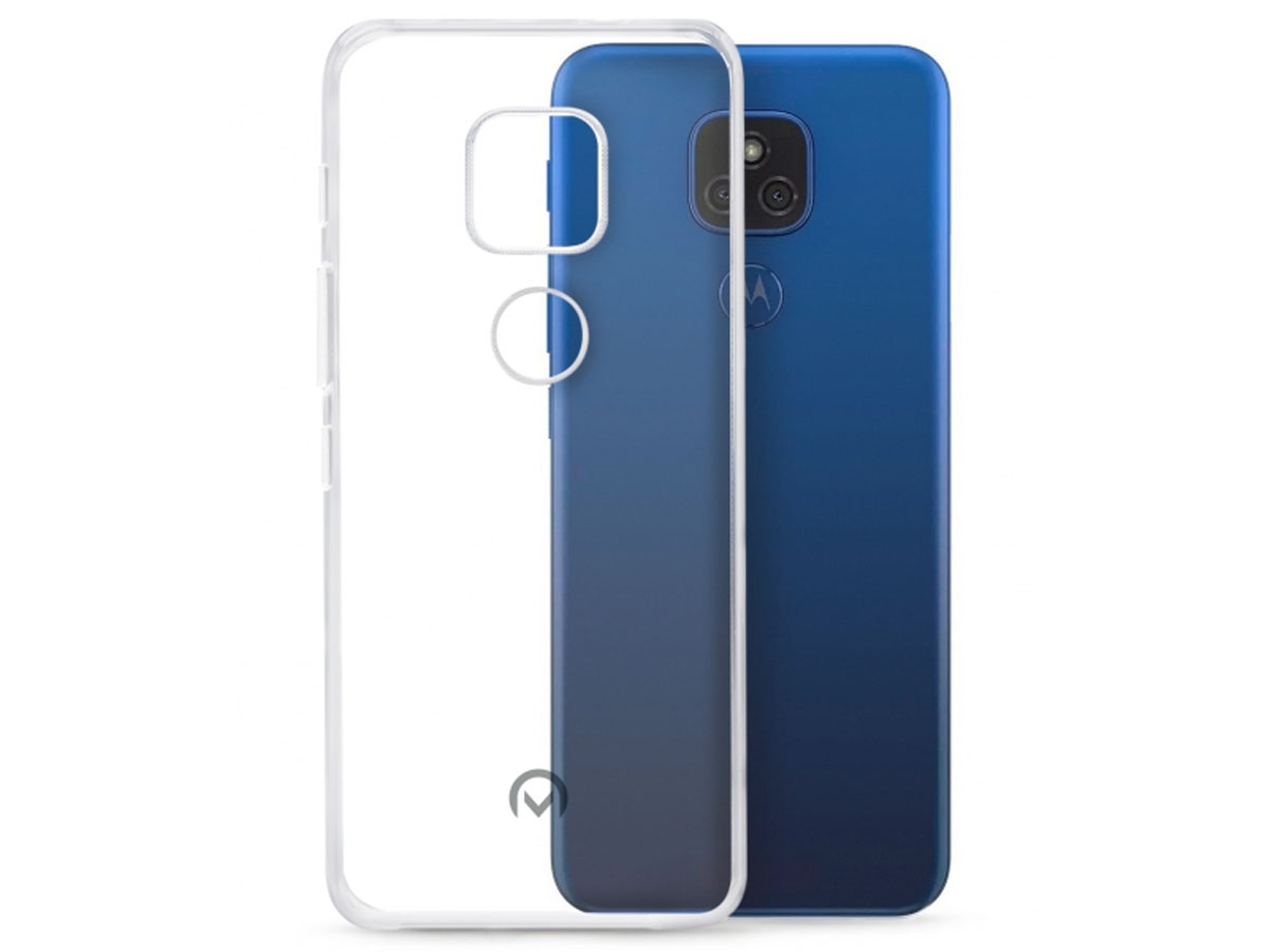Mobilize Clear TPU Case - Motorola Moto G9 Play hoesje Transparant
