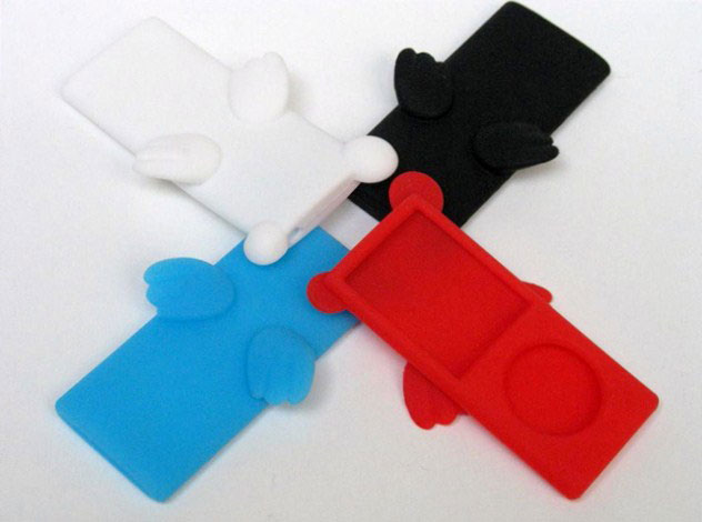 Angel Silicone Skin voor iPod Nano 4G
