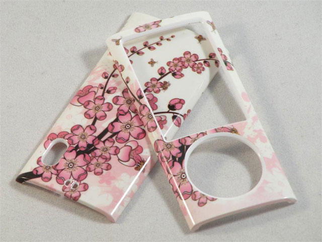 Hard Case 'Chinese Flowers' voor iPod Nano 5G