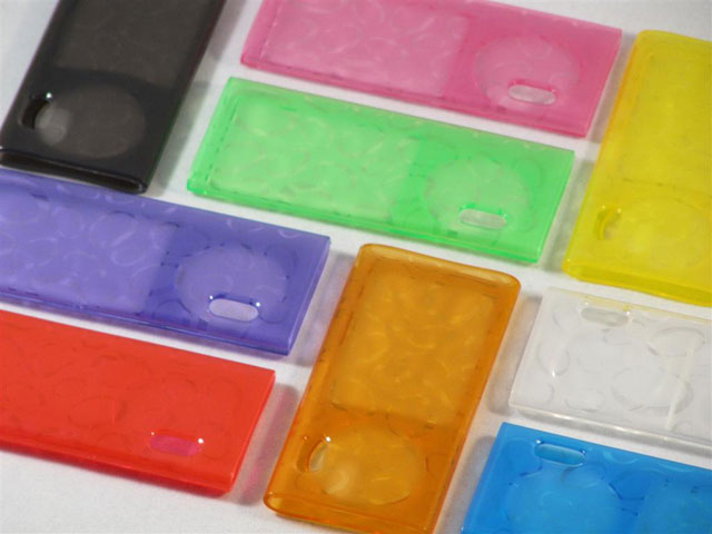 Glossy Polymer TPU Case voor iPod Nano 5G
