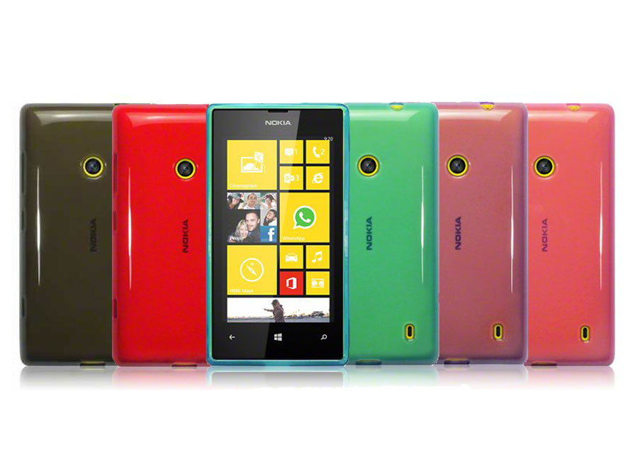 CaseBoutique TPU Soft Case - Nokia Lumia 520 Hoesje