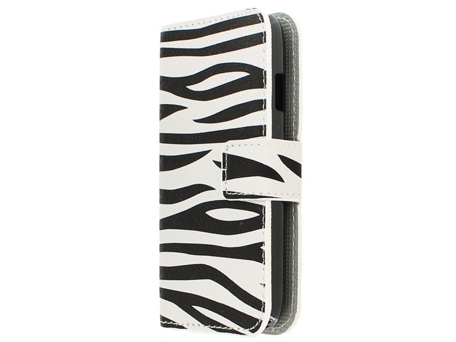 Nokia Lumia 630/635 Wallet Case Hoesje - Zebra design
