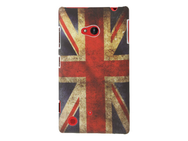 Great Brittain Vintage Case - Nokia Lumia 720 hoesje