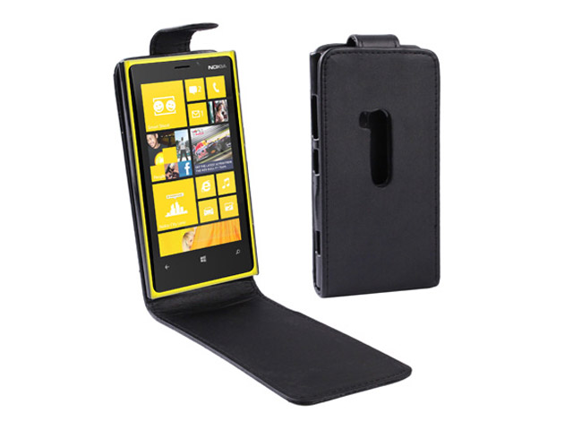 Business Flip Case - Nokia Lumia 920 Hoesje