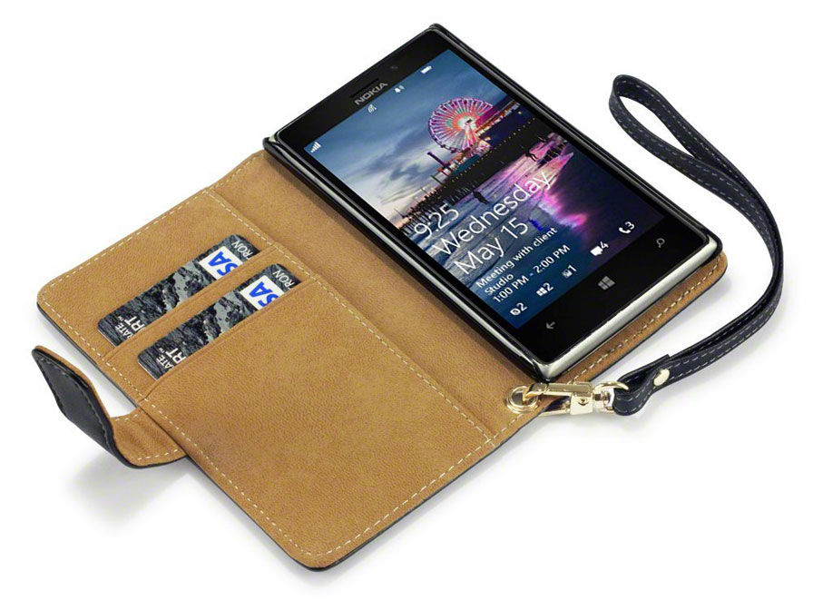 CaseBoutique Wallet Case Hoesje voor Nokia Lumia 925