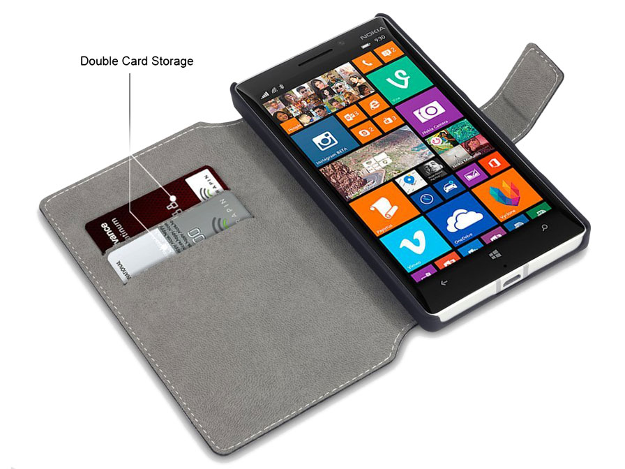 Covert UltraSlim Book Case - Nokia Lumia 930 Hoesje