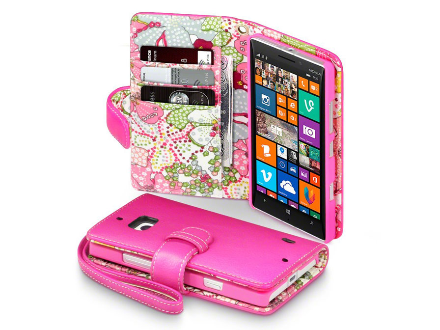 CaseBoutique Lily Wallet Case - Nokia Lumia 930 Hoesje