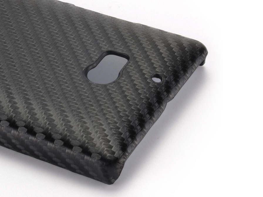 Carbon Hard Case - Hoesje voor Nokia Lumia 930