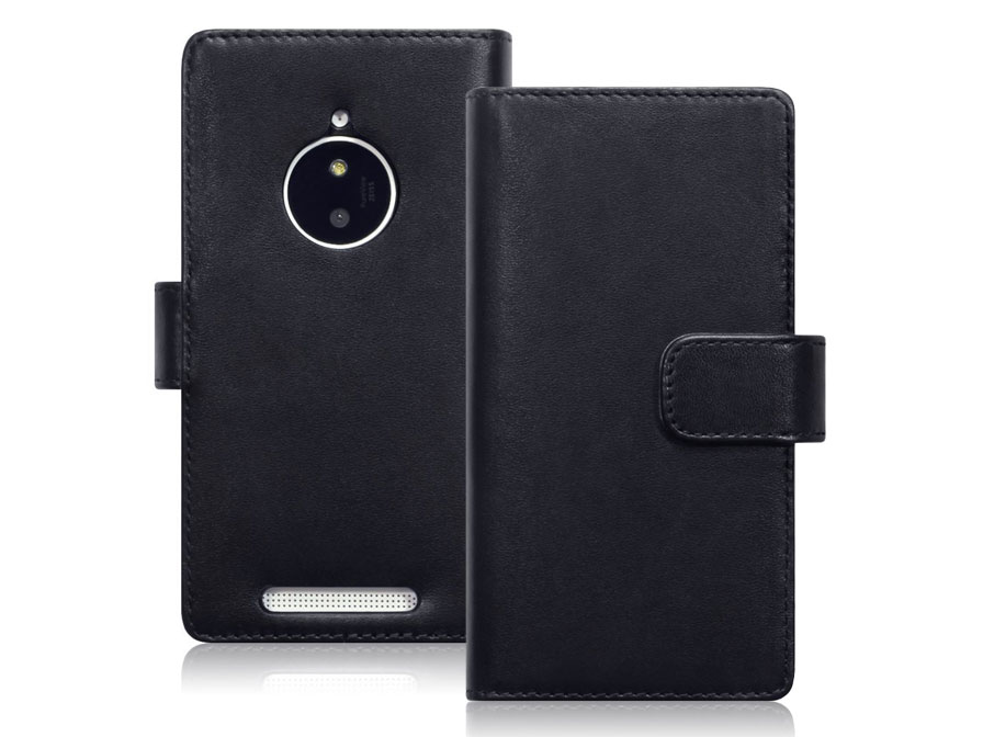 CaseBoutique Leather Wallet Case - Hoesje voor Nokia Lumia 830