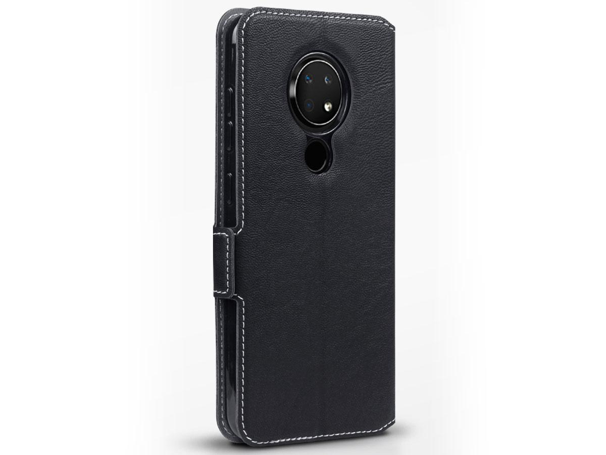 CaseBoutique Slim Bookcase Zwart - Nokia 6.2 hoesje