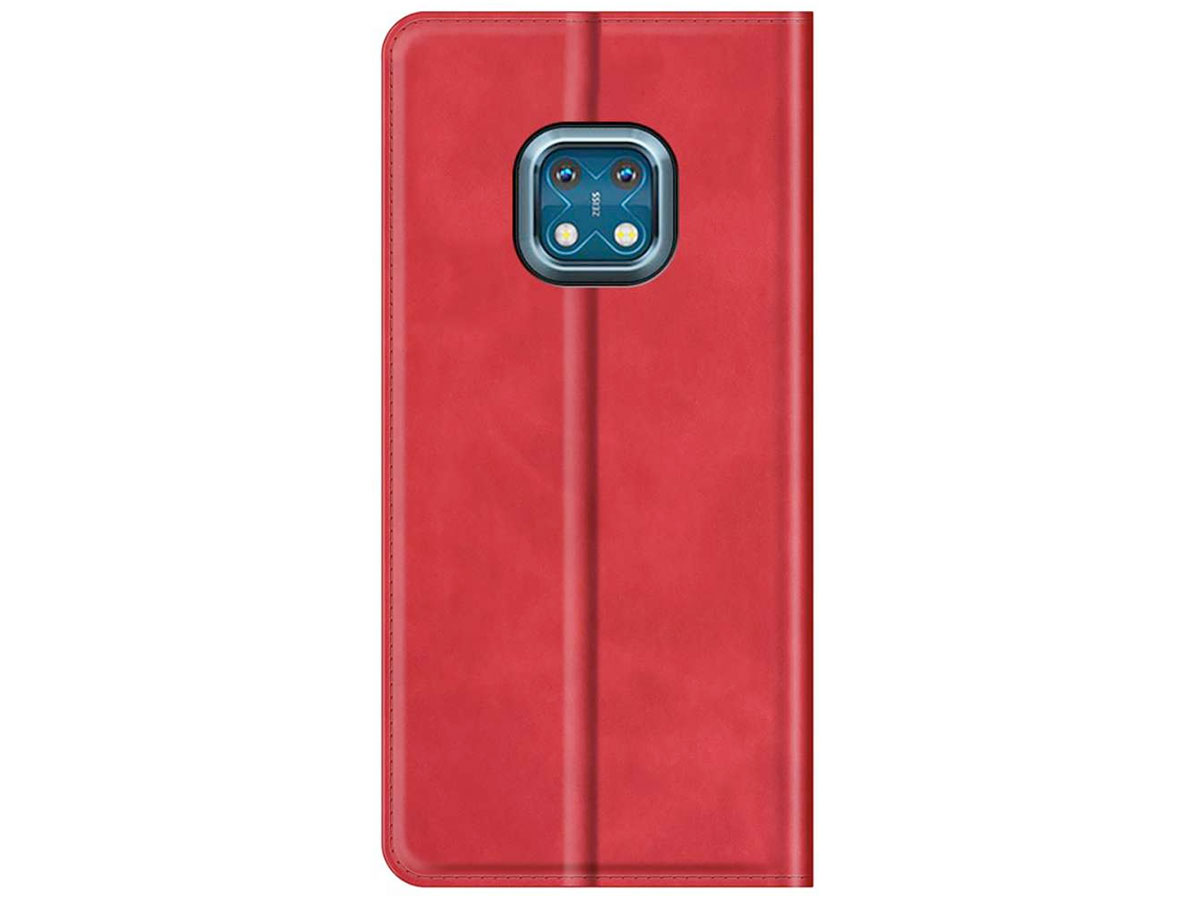 Just in Case Magnetic BookCase Rood - Nokia XR20 hoesje
