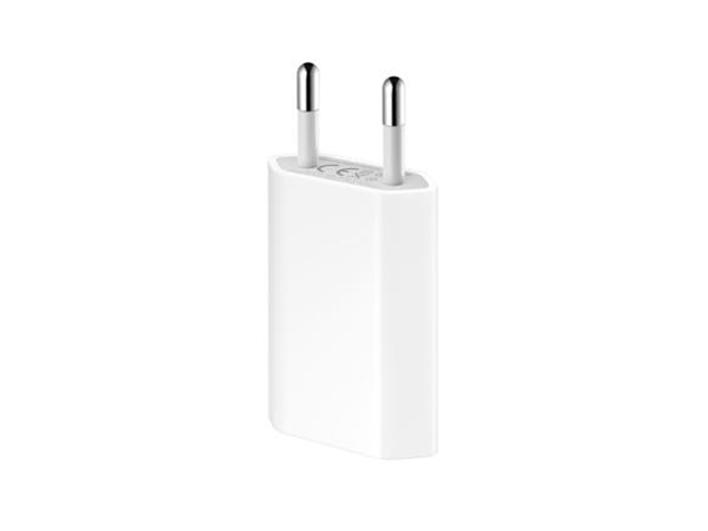 Apple Power Adapter met USB kabel voor iPod/iPhone (MB707ZM/B)