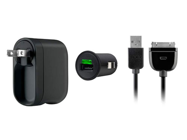 Belkin Charging Kit 12V/220V voor iPad/iPod/iPhone