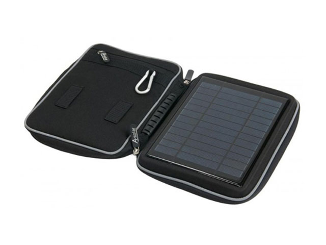 A-Solar Power Case voor Tablets met 4W Solar Panel / 7000mAh Accu