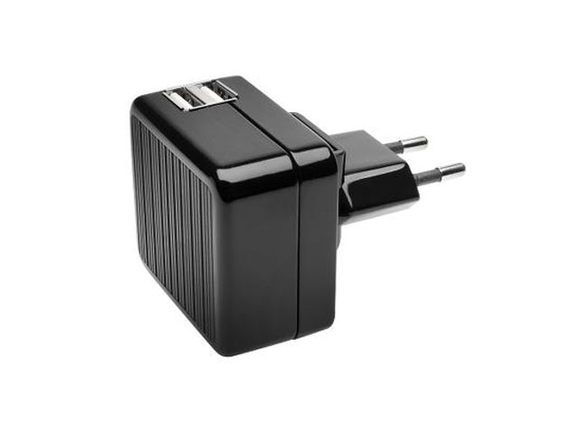Kensington AbsolutePower 2 x 2A Duo USB Oplader