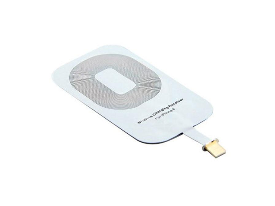 iphone 6 6s qi adapter maakt draadloos opladen mogelijk. Black Bedroom Furniture Sets. Home Design Ideas