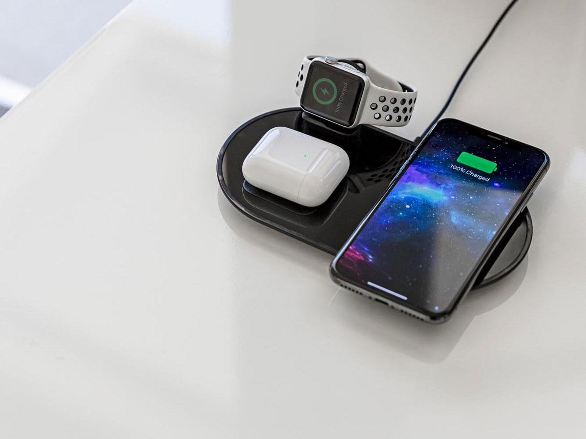 Mophie 3in1 Wireless Charging Pad - Draadloze Oplader voor Apple