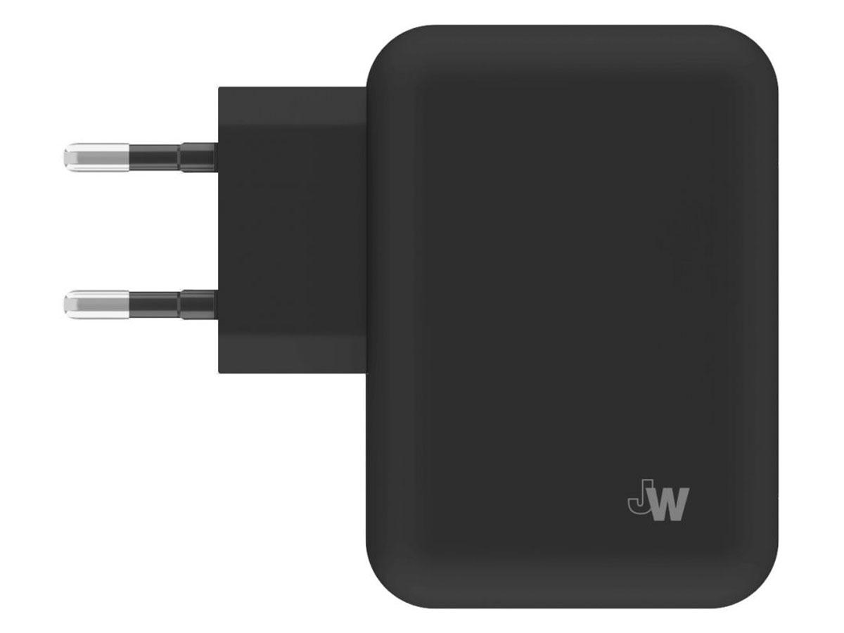 Just Wireless 4.2A Dual USB Oplader Universeel Zwart