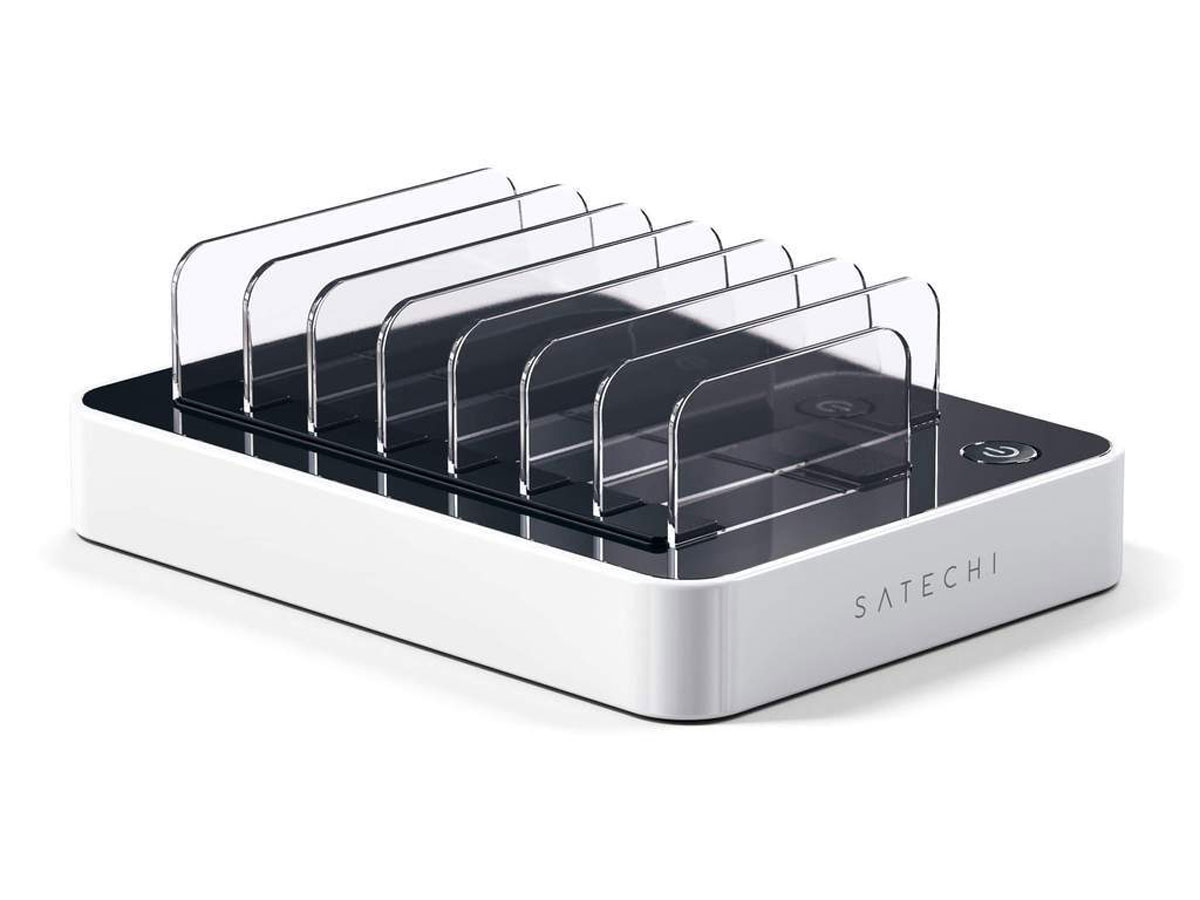 Satechi Charge Dock USB-C Wit - Oplader voor 7 Apparaten