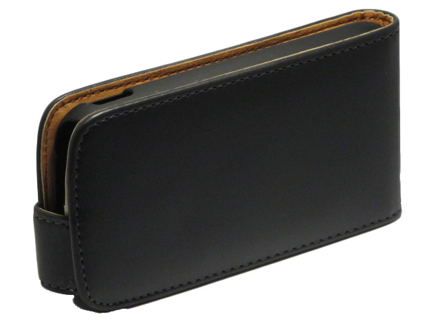 Classic Leather Flip Case Samsung Galaxy Chat (B5330)