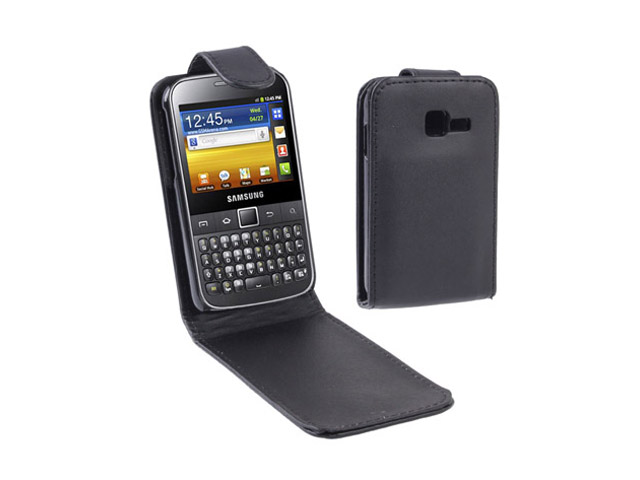 Business Leather Case Samsung Galaxy TXT (B5510)