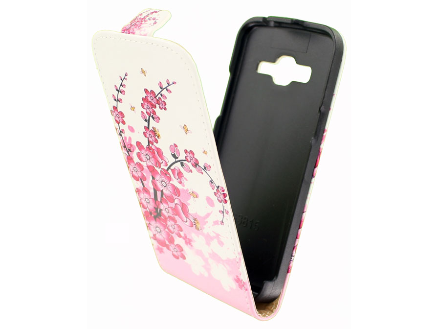 Blossom Flip Case - Samsung Galaxy Express 2 Hoesje