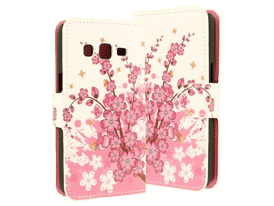 Blossom Bookcase - Samsung Galaxy Express 2 Hoesje