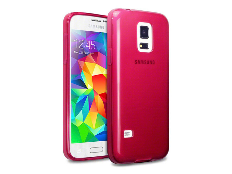 CaseBoutique TPU Soft Case - Hoesje voor Samsung Galaxy S5 Mini