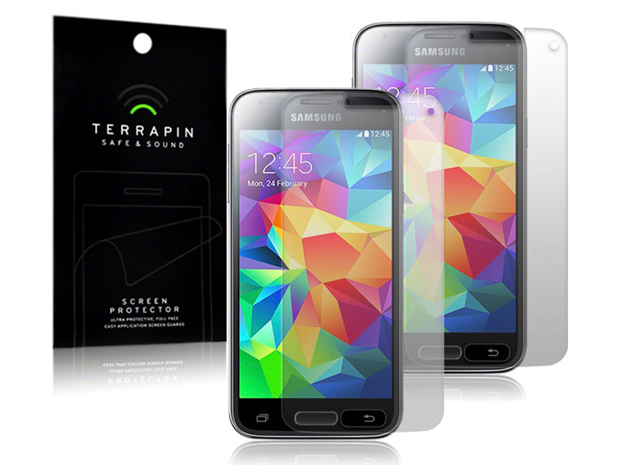 Clear Screenprotector voor Samsung Galaxy Alpha (2-pack)