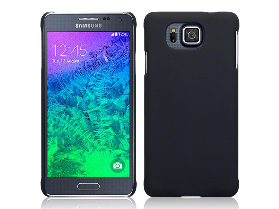 CaseBoutique Frosted Hard Case - Hoesje voor Samsung Galaxy Alpha