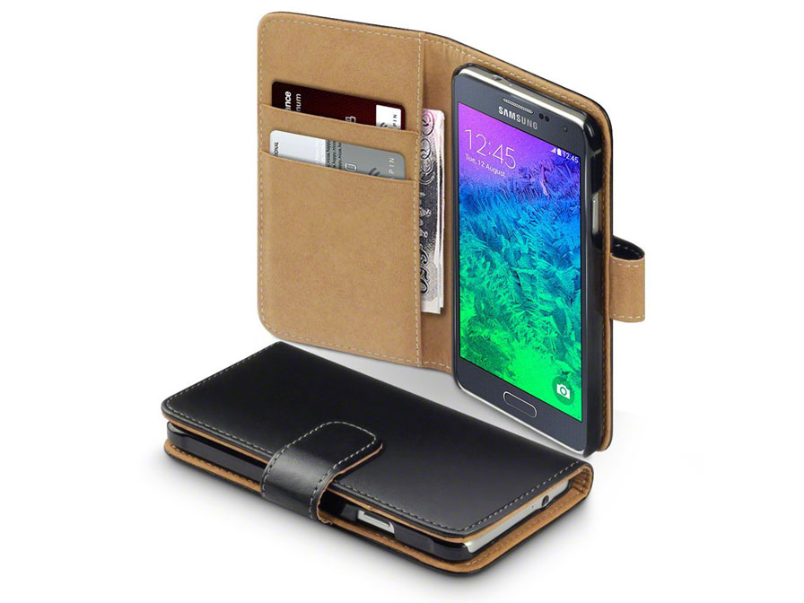 CaseBoutique Wallet Case - Samsung Galaxy Alpha hoesje
