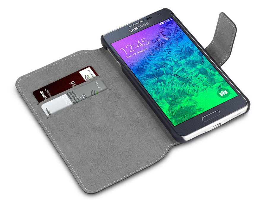 Covert UltraSlim Book Case - Samsung Galaxy Alpha Hoesje