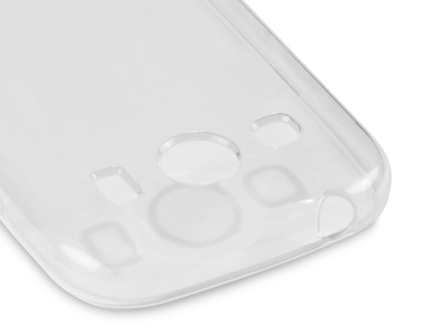 CaseBoutique TPU Crystal Case - Samsung Galaxy Ace 4 hoesje