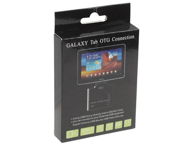2-in-1 USB Connection Kit voor Samsung Galaxy Tab