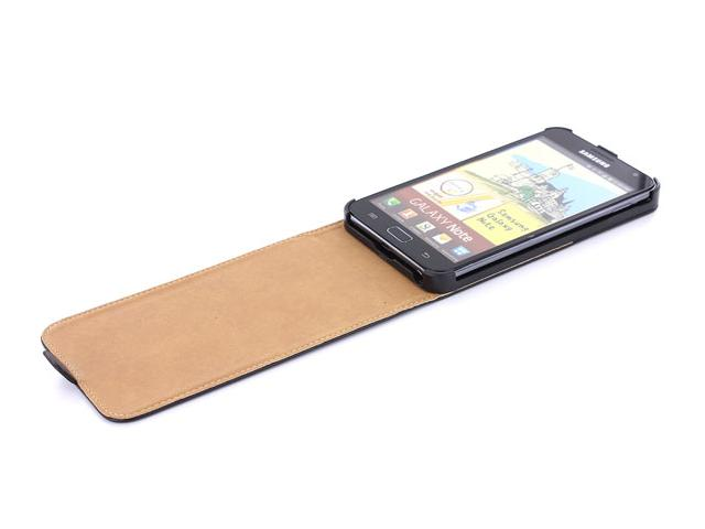 Classic Series Leather Stand Case voor Samsung Galaxy Note