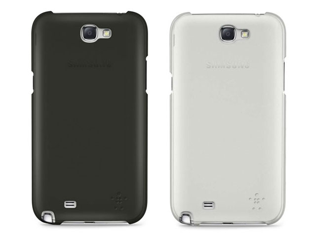 Belkin Shield Sheer Matte Case voor Samsung Galaxy Note 2 (N7100)