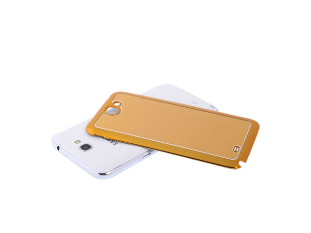 Brushed Aluminium Batterijklepje voor Samsung Galaxy Note 2 (N7100)